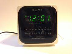 sony dream machine alarm clock instructions icf c218