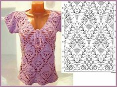 Stitch crochet pattern women