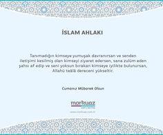 Cumanız mübarek olsun. #morkuaz #kapı #mutfak #cuma #tanımak #iyi #davranmak #iletişim #ziyaret #zulüm #af #etmek #derece #yükselmek #islam #müsliman