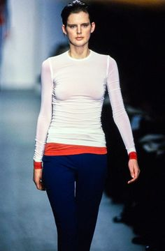 See detail photos for Calvin Klein Collection Spring 1997 Ready-to-Wear collection.