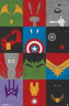 Trends International Avengers Minimalist Grid Rolled Poster, 22 by 34-Inch, http://www.amazon.com/dp/B00TJUM4SS/ref=cm_sw_r_pi_awdm_h-Unvb1HNPSD9