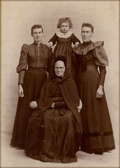 Have to do some of those - American gothic cabinet card