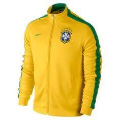 Áo Khoác Thể thao Brazil màu vàng