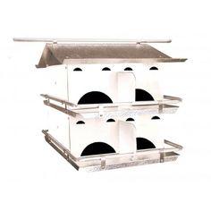 Bird's Choice Starling Resistant Purple Martin Bird House - 2 Floor/8 Room (Assembled)