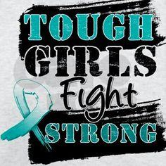 Tough Girls Cervical Cancer Light T-Shirt