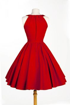 Pinup Couture Harley Dress in Red