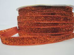 Craft supplies and Handmade Tassels by ichimylove Orange Glitter, Orange Red, How To Make Headbands, Glitter Ribbon, Purse Handles, Fun Projects, Craft Supplies, Art Pieces, Great Gifts
