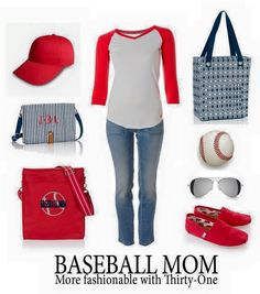 It's almost time for Baseball season! Show your support for your kids with these fun totes! #abagforyou