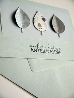 Diy Paper, Paper Crafts, Karten Diy, Thanksgiving Cards, Sympathy Cards, Diy Cards, Hand Lettering, Stampin Up, Birthday Cards