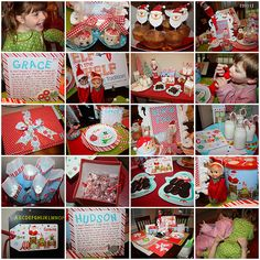 North Pole Breakfast- Love this girl's blog. She has the cutest ideas!