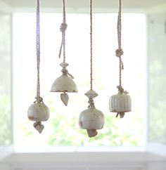 ceramic bells - make on the wheel!!