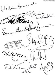 All Eleven Doctors have now signed your board!!! << BUT THERE ARE THIRTEEN AHH oh well I'm still happy
