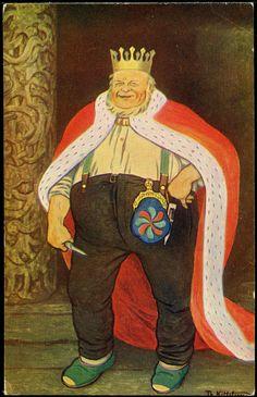Theodor Kittelsen, Kongen, illustration to norwegian fairytale Most Popular Artists, Great Artists, Theodore Kittelsen, Art Database, Framed Prints, Art Prints, Nature Paintings, Wood Print, Norway