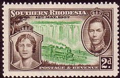 Southern Rhodesia 1937 Coronation SG 37 Fine Mint SG 37 Scott 39 Other Rhodesian Stamps HERE