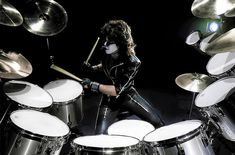 Eric Carr, Hot Band, Drums, Music Instruments, Kiss, Fox, Percussion, Musical Instruments, Drum