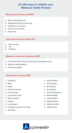Testing your MVP becomes very important if you want to make sure the success of the product. These 21 methods are tried and tested for testing the MVPs of a product. Paragraph Writing, Opinion Writing, Persuasive Writing, Writing Rubrics, Social Media Survey, Testing Techniques, Success Criteria, Physical Education Games, Australian Curriculum