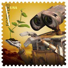 I adore Wall-E particuarly and love stamps/postage/mail. Disney Pixar, Arte Disney, Disney Art, Walle Y Eva, Wall E Movie, Pixar Movies, Disney Movies, Disney Scrapbook, Mail Art