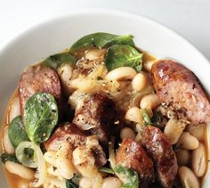 If you can't find fresh chorizo, use any fresh sausage. For less heat, choose a sweet (mild) Italian sausage.