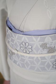 お洒落な普段着物、東京 六本木の帯,きものブランド awai|週末のお洒落着物/コーディネート | awaiの附下