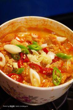 [비지찌개만들기]돼지고기 김치 비지찌개 만드는법 by 미상유 – 레시피   Daum 요리