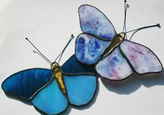 Pretty little stained glass butterflies