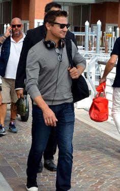 Jeremy Renner. Venice Film Festival 2016