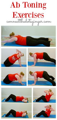 Plus size fitness | Ab toning exercises to Helping to strengthen your core after baby.