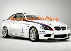 BMW E92 2 stripes