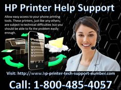 The HP Printers are some of the most popular on the market today. The HP Printer Tech Support name is renowned for offering high quality, durable and functional printers and other computer accessories. You always get the very best with a HP printer, but sometimes you may find yourself needing to troubleshoot a problem. These printers, just like any other. Call: 1-800-485-4057 Visit: http://www.hp-printer-tech-support-number.com