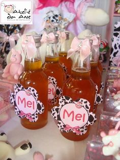 Decoração da festa: Fazendinha Rosa! ~ Guia Tudo Festa - Blog de Festas - dicas e ideias!