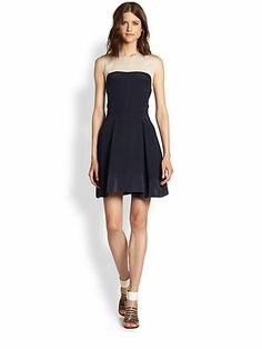 Comfortable clothes, soft fabric docile, fashionable women preferred to buy one, right? Comfortable Outfits, Stylish Outfits, Wild Style, My Style, High Fashion, Womens Fashion, Colorblock Dress, Wedding Attire, Flare Skirt