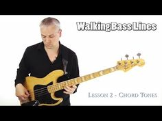 How To Play Walking Bass Lines - Using Chord Tones (L#54) - YouTube