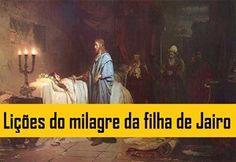 Lições do milagre da filha de Jairo