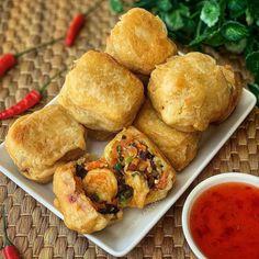 7 Jenis Gorengan yang Gak Pernah Absen Dalam Sajian Berbuka Puasa Tahu Isi, Mayonnaise, Ethnic Recipes, Food, Meals, Yemek, Eten