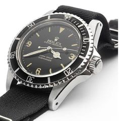 "1962 Rolex ""Explorer Dial"" Submariner Reference 5512"
