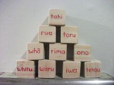 Maori Counting Building Blocks