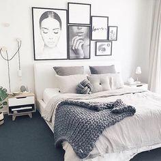 10 Wonderful Ideas: Minimalist Kitchen Island Small Spaces minimalist home office organization.Minimalist Home Bedroom Minimalism white minimalist bedroom open closets.Minimalist Home Bedroom Minimalism. Feminine Bedroom, Cozy Bedroom, Home Decor Bedroom, Bedroom Inspo, Bedroom Furniture, Stylish Bedroom, Bedroom Lamps, Nerd Bedroom, Bedroom Bed