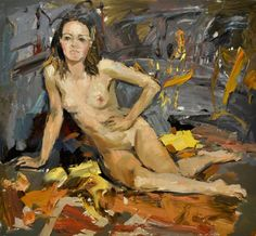 Olga Novokhatska - Nude in autumn colours