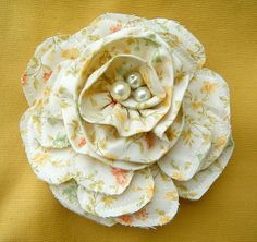 How-to for fabric flowers