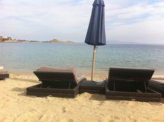 A7, Psarou beach, Mykonos, Greece Mykonos Greece, Most Beautiful, Island, World, Places, England, Germany, France, Lugares