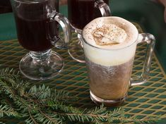 Irish Coffee Riff - a toasty spin on the traditional Irish coffee by adding Flor de Cana rum and a cinnamon syrup to the usual Irish whiskey base.