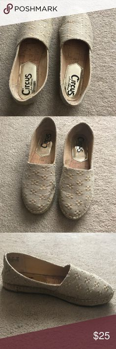 Circus by Sam Edelman Gold Espadrilles Great Condition! Only worn a few times! Circus by Sam Edelman Shoes