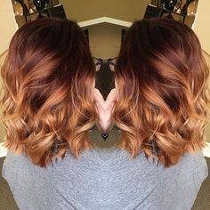 Red copper ombre ✂️ #hairbykoripenrod #hairobsessed #americansalon…