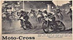 MX des Nations Namur 1965 Jeff Smith, Vintage Motocross, Grand Prix, Belgium, Britain, Cool Photos, Pictures, Painting, Art