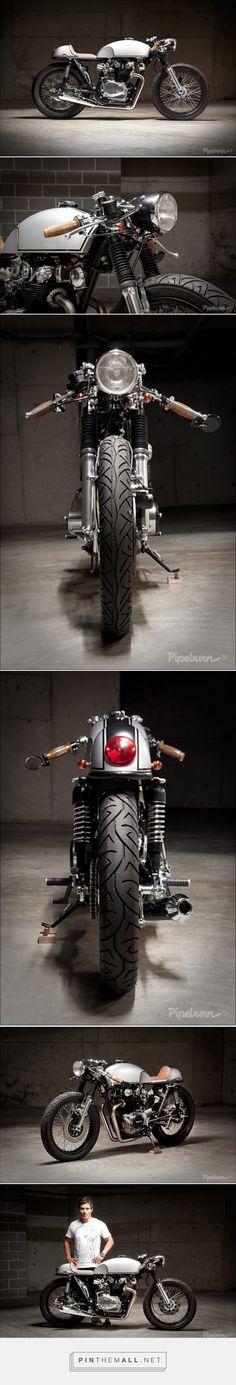 "Honda 1971 CB450 ""Bonita Applebum"" - Pipeburn.com - created via https://pinthemall.net"