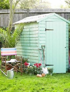 Bright shed