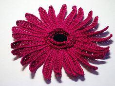 Ravelry: Gerbera Flower Pattern pattern by Camelia Shanahan