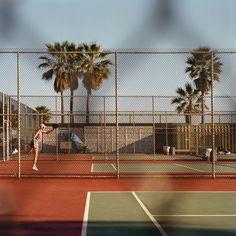 Tennis, Sarah Eick - Photographie d'art Outsider Art, Tennis, Sakura, Photographs