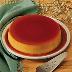 Flan:  3/4 cup sugar  1 package (8 ounces) cream cheese, softened  5 eggs  1 can (14 ounces) sweetened condensed milk  1 can (12 ounces) evaporated milk  1 teaspoon Spice Islands® pure vanilla extract
