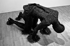 UK-based Thai sculptor Rook Floro uses his skillful hands to reproduce the human form as shadows of himself.